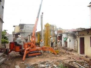 Ép cọc bê tông tại Thanh Xuân