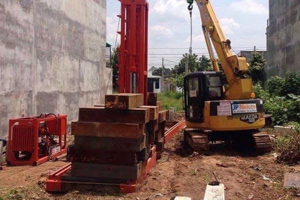 Dịch vụ ép cọc bê tông tại Thanh Trì Hà Nội