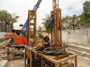 Dịch vụ ép cọc bê tông Long Biên