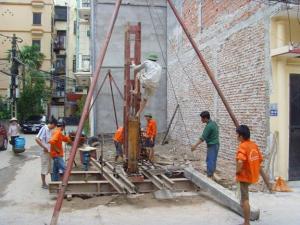 Báo giá ép cọc bê tông tại Quốc Oai Hà Nội