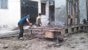 Quy trình thi công ép cọc bê tông nhà dân