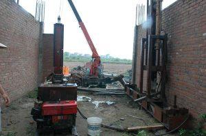 Lựa chọn máy ép cọc bê tông tại Thường Tín