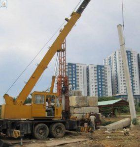 Ép cọc bê tông Thường Tín cho công trình vững chắc