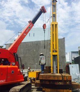 Dịch vụ ép cọc bê tông Hà Đông – giải pháp tối ưu cho công trình bền vững