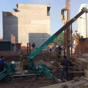 Khắc phục được tình trạng đất yếu và tiết kiệm được chi phí xây dựng của việc áp dụng ép cọc bê tông nhà dân dụng
