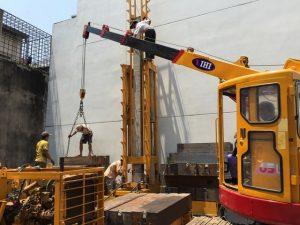 Ép cọc neo – kỹ thuật hiện đại hình thành sự vững chắc cho mọi công trình xây dựng