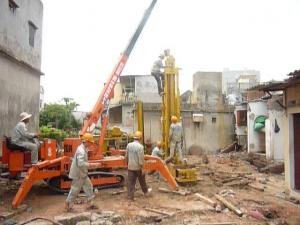Cùng tìm hiểu cách khắc phục móng nhà trên nền đất yếu