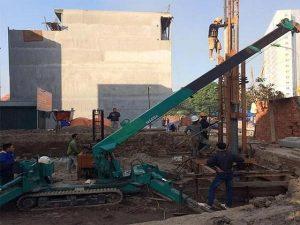 Ép cọc bê tông tại Hà Đông Hà Nội giá tốt, chất lượng cao