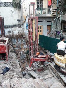 Quy trình ép cọc bê tông nhà ống như thế nào?