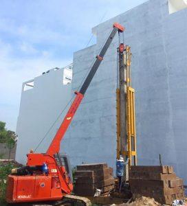 Ép cọc bê tông nhà 2 tầng cần lưu ý những điểm gì?