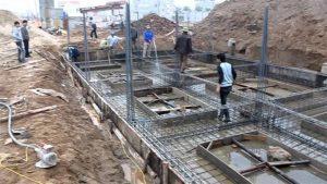 Dự án ép cọc bê tông cho vợ chồng anh Chung chị Trang tại Ba Đình, Hà Nội