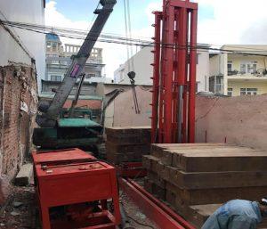 Làm sao để ép cọc bê tông nhà phố chuyên nghiệp, hiệu quả