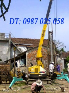 Thi công ép cọc bê tông tại Hà Nội