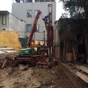 Báo giá ép cọc bê tông tại Hà Đông